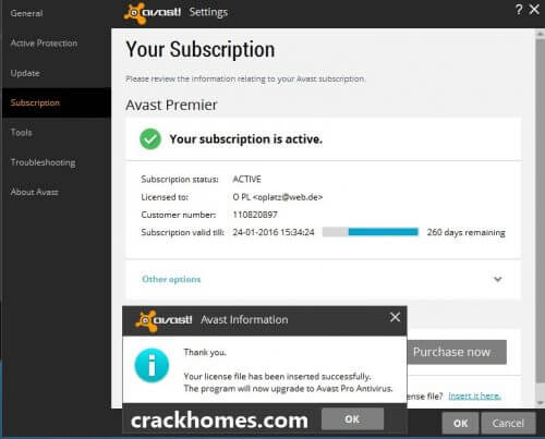 Avast Premier Security Crack With Activation Code