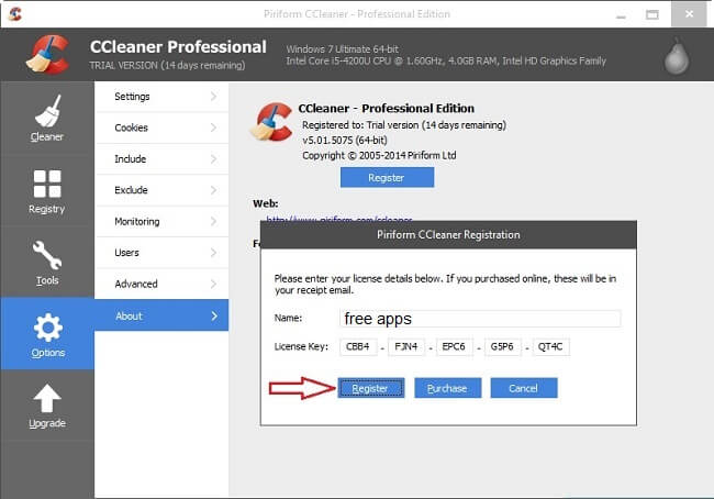 CCleaner Crack with Activation Key