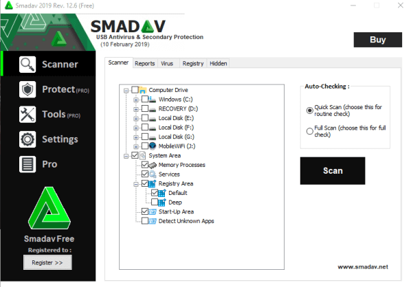 SmadAV Pro Crack With License Key